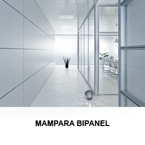 Mampara Bipanel