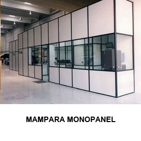 Mampara Monopanel