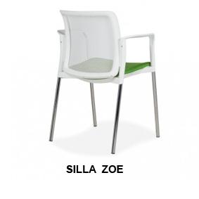 Silla Zoe Confidente