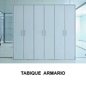 Tabique Armario