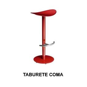 Taburete Coma