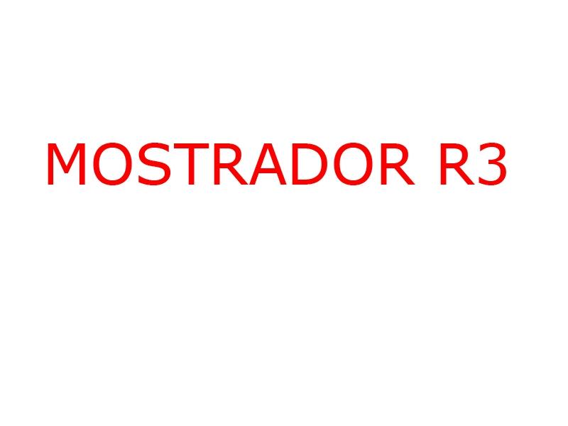 Mostrador R3